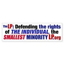 Defending Rights Bumper Bumper Sticker