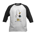 What the Duck: 1 of 4 Charact Kids Baseball Jersey