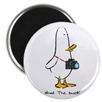 """What the Duck: 1 of 4 Charact 2.25"""" Magnet (10 pac"""
