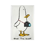 What the Duck: 1 of 4 Charact Rectangle Magnet (10