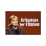 Arkansas For Hillary Clinton Magnets