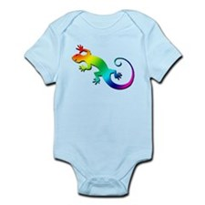 Rainbow Gecko Infant Bodysuit
