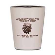 Alexander the Great Shot Glass
