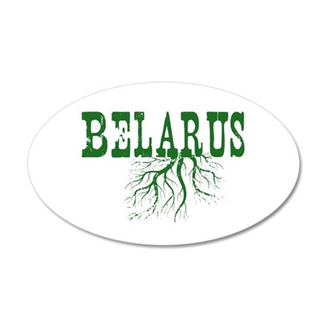 Belarus Roots 20x12 Oval Wall Decal