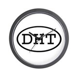 DHT Oval Wall Clock
