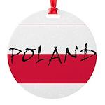 Flag of Poland Ornament