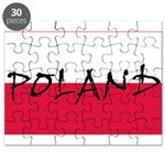 Flag of Poland Puzzle