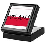 Flag of Poland Keepsake Box