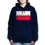 Flag of Poland Women's Hooded Sweatshirt