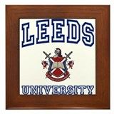 LEEDS University Framed Tile
