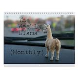 Llama Wall Calendars