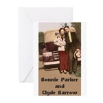 Bonnie and Clyde Greeting Cards (Pk of 10)