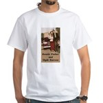 Bonnie and Clyde White T-Shirt