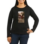 Bonnie and Clyde Women's Long Sleeve Dark T-Shirt