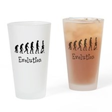 Evolution Drinking Glass