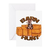 Barn hunt Greeting Cards (10 Pack)