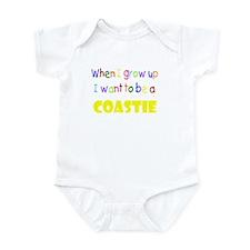When I grow up-Coastie Infant Bodysuit
