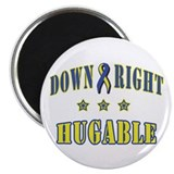 Down Right Hugable Magnet