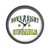 Down Right Hugable Wall Clock