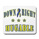 Down Right Hugable Mousepad