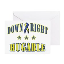Down Right Hugable Greeting Cards (Pk of 10)