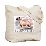 Bullmastiff Watercolor Tote Bag
