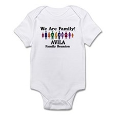 AVILA reunion (we are family) Infant Bodysuit