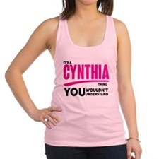 It's A Cynthia Thing You Wouldn't Understand! Race