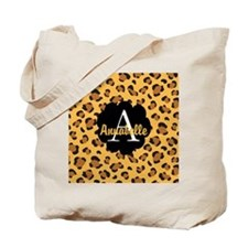 Personalized Name Monogram Gift Tote Bag