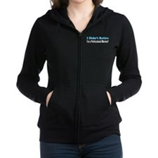 Didn't Retire Professional Mormor Women's Zip Hood