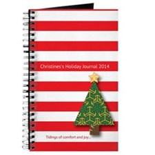Personalized Christmas Journal With Name And Year
