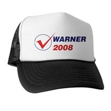 WARNER 2008 (checkbox) Trucker Hat