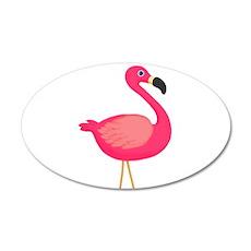 Pink Flamingo Wall Decal