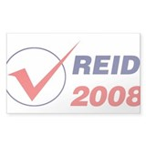 REID 2008 (checkbox) Rectangle Decal
