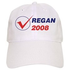 REGAN 2008 (checkbox) Baseball Cap