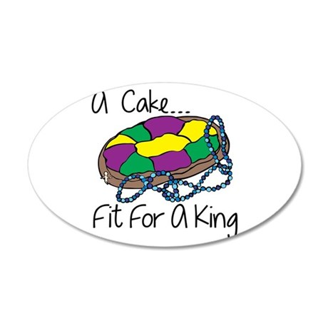 Fit For A King Wall Decal