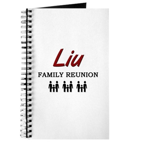 Liu Family Reunion Journal
