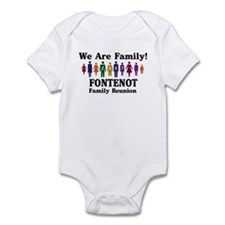 FONTENOT reunion (we are fami Infant Bodysuit