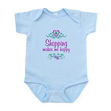 Shopping Happy Infant Bodysuit