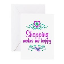 Shopping Happy Greeting Cards (Pk of 20)