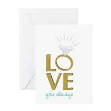 Love You Always Greeting Cards