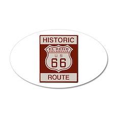 El Reno Route 66 Wall Decal