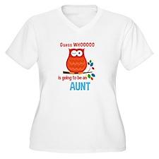 Bold Owl - New Aunt Plus Size T-Shirt