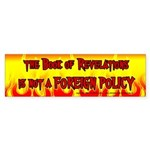 Book of Revelations Bumper Sticker