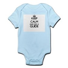 Keep calm and kiss a Guide Body Suit