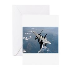 Fighter Jet Greeting Cards