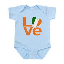 Orange Irish Love Body Suit