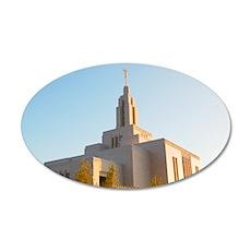 LDS Draper Utah Temple Wall Decal