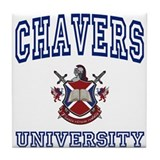 CHAVERS University Tile Coaster
