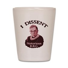 Notorious RBG -p Shot Glass